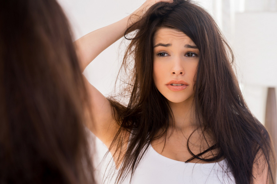 amoniak a kondycja włosów